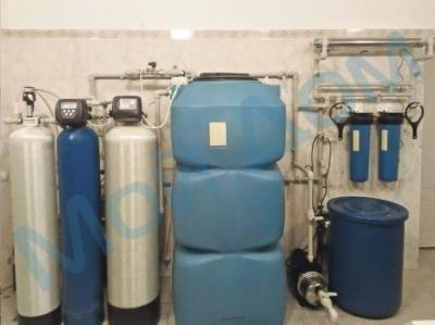 Водоочистка с накопительным баком