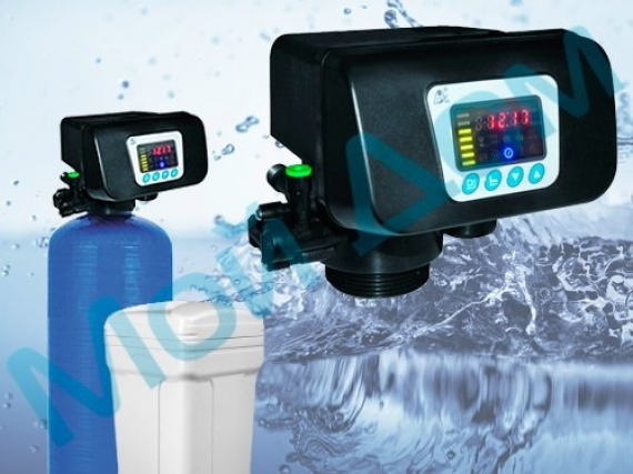 Универсальный фильтр очистки воды FSE-6-R-FL (1665) с автоматикой «Runxin» (Китай) с загрузкой FeroSoft L
