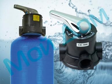 Безаэрационный обезжелезиватель воды CFI-2-RR (1054) с ручным управлением (Китай)