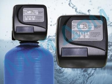 """Угольный фильтр для воды FC-1-C (0844) с автоматикой """"Clack"""" (США) с загрузкой"""