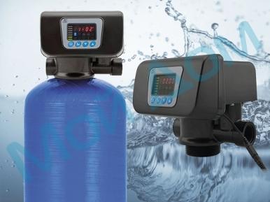 """Угольный фильтр для воды FC-1-R (0844) с автоматикой """"Runxin"""" (Китай) с загрузкой"""