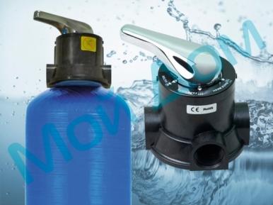 Фильтр обезжелезиватель воды FI-5-RR (1465) с ручным управлением
